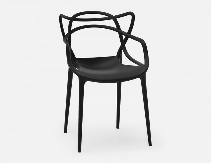 MASTER - Dining Chair - Black