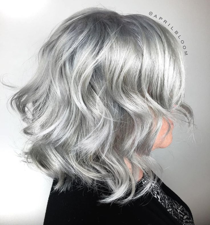 Repost from @aprilbloom - ❄️❄️Ice Cold Silver❄️❄️ Natural level 3- It's been a long road but after 3 lightening sessions we finally got the results we wanted! Toned prelightened hair with @kenraprofessional rapid toner SV, applied Steel Sheer Tone roots to ends, processed, shampooed, dried and finished by smudging the roots with Charcoal Color Creative. #kenracolor #kenra #silverhair #grayhair