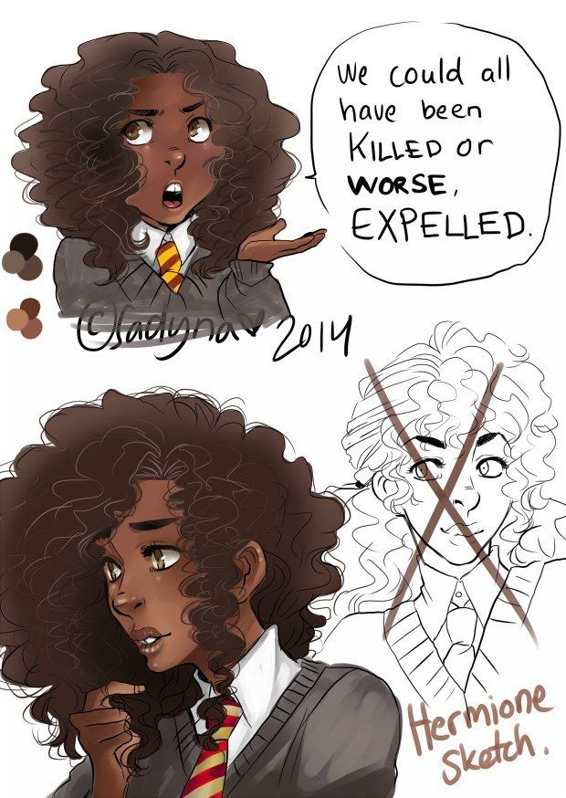 """For the first time, I was seeing Hermione's subtext brought out into text.   Community Post: What A """"Racebent"""" Hermione Granger Really Represents"""