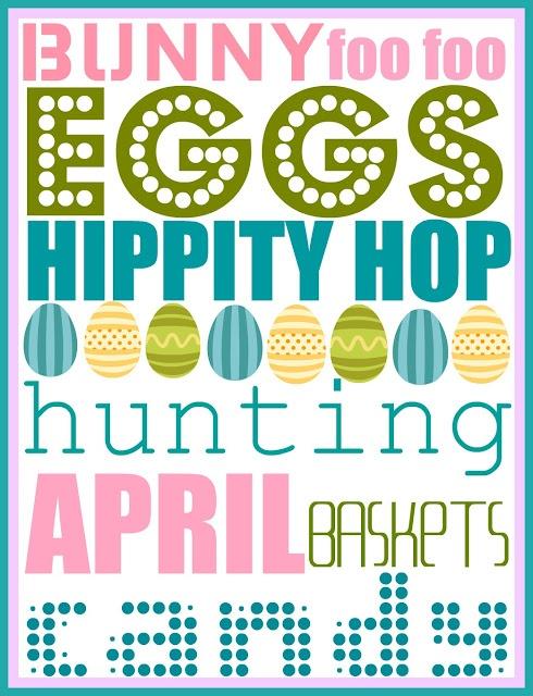 FREE Printable Easter Print #easter #free #printable