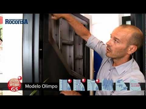 Puerta Modelo Olimpo - Puerta acorazada - Nivel 5 de seguridad