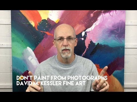 Don't Paint From Photographs - YouTube