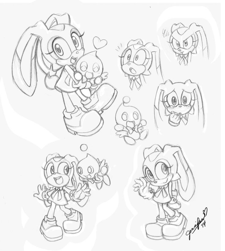 Page Full Of Cream By Chibi Jen Hen On Deviantart Doodle Inspiration Chibi Sonic Adventure