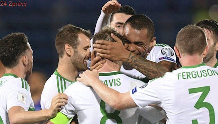 Severní Irové opět vyhráli, porazili San Marino. Anglie střílela v závěru
