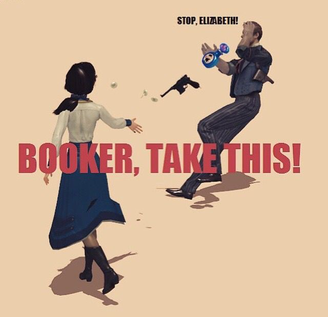 "Bioshock Infinite ""Booker catch!"""