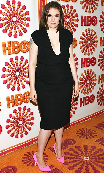 2012 Emmy Nominations: #LenaDunham earned nominations in the Best Comedy, Best Comedy Actress, and Outstanding Comedy Writing categories for Girls. http://news.instyle.com/photo-gallery/?postgallery=122952#: Simple Black Dress