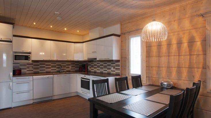 Sonkamökit Cottages in Rovaniemi countryside in Lapland, Finland