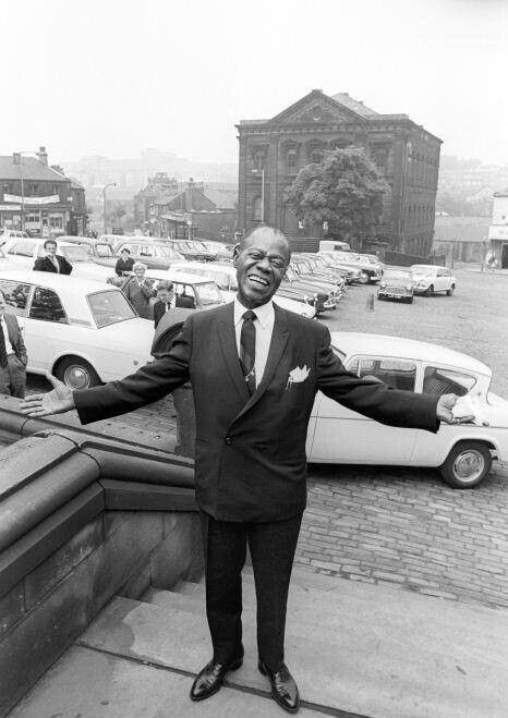 Louis Armstrong in Batley West Yorkshire