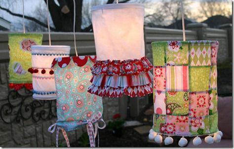 Glamp lamps, handmade