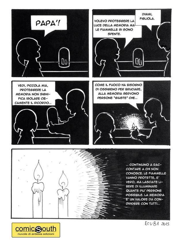 Ennio Ecuba for #comicsouth