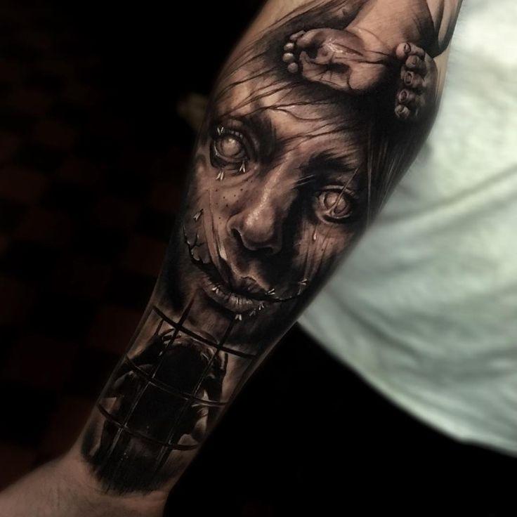 Тату-мастер Sam Barber атмосферные реализм татуировки цветные, черно-белые | Tattoo artist Sam Barber realism tattoo dark , color, black and gray  #inkpplcom #inkppl #inkpplmagazine #inkedpeople #inked #ink #inktattoo #tattoo #tatts #tattooartist #tattooing #tattoos #tattooist #art #artist #tattooed #татуировка #тату #realism #portrait  #realistictattoo #portraittattoo  #realismtattoo #realismportrait #sambarber