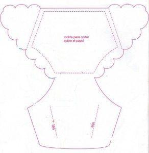 moldes de tarjetas para baby shower (1):