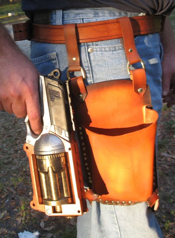Leather Holster for Maverick Nerf Gun
