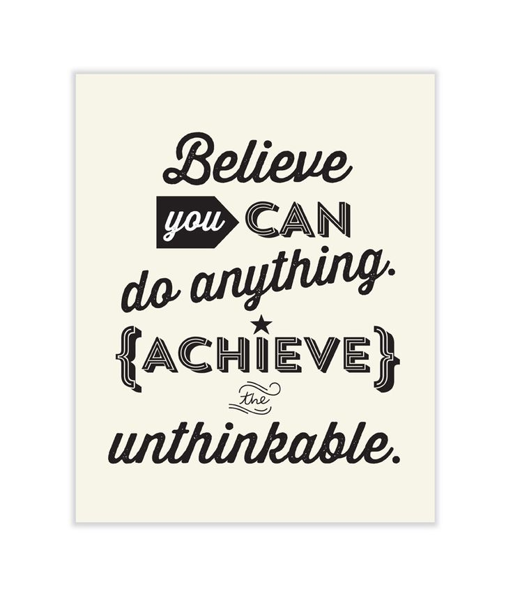 Believe You Can by Tricia O
