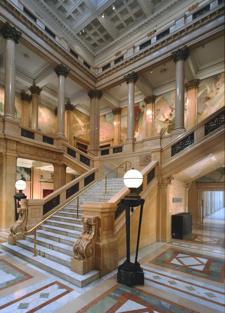 Carnegie Museum of Art, The Grand Staircase  http://www.carnegiemuseums.org/