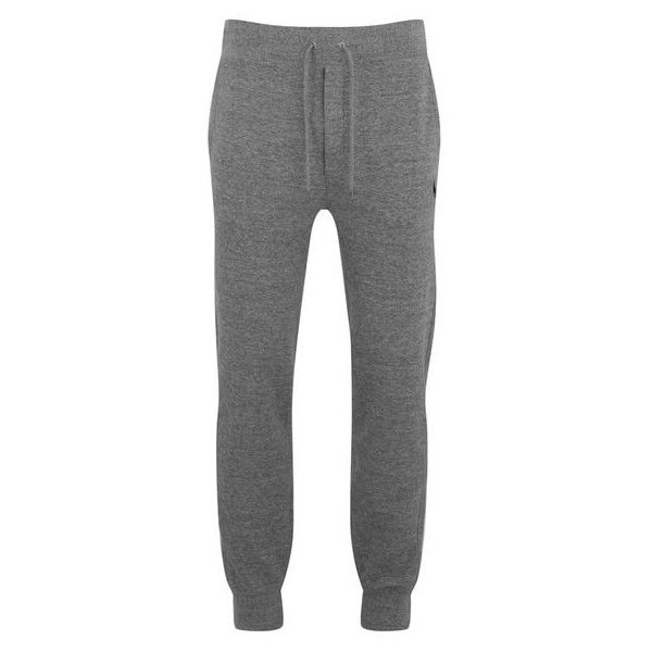 Polo Ralph Lauren Men's Cuffed Track Pants - Canterbury Heather ($92) ❤ liked on Polyvore featuring men's fashion, men's clothing, men's activewear, men's activewear pants, grey, mens jogger sweatpants, mens grey sweatpants, mens slim sweatpants, mens sweatpants and mens elastic cuff sweatpants