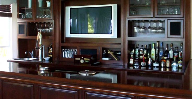 Custom Bar Designs | Bar Cabinets Closets Garage Storage Home Office  Kitchen Cabinets ... | Wet Bar | Pinterest | Wine Cabinets, Garage Storage  And Wet Bars