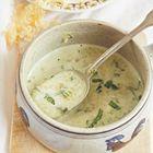 Een heerlijk recept: Romige knoflook-kaassoep