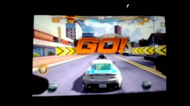 asphalt 7 on Huawei Mediapad (+playlist)