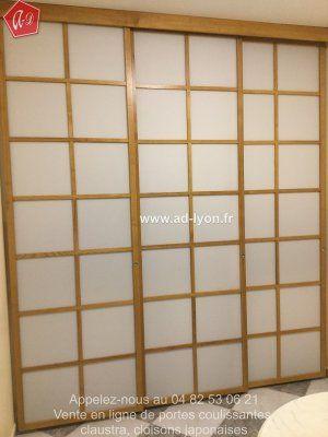 La Fermeture Du0027une Cuisine Avec Un Claustra Japonais En 3 Panneaux