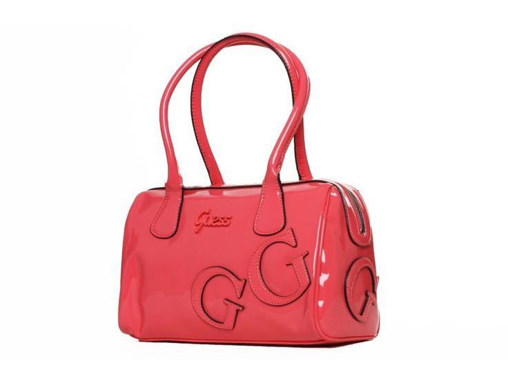 Dámská růžová kabelka GUESS - 100061983   obujsi.cz - dámská, pánská, dětská obuv a boty online, kabelky, módní doplňky
