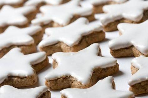 Рецепт австрийского рождественского миндального печенья / Простые рецепты