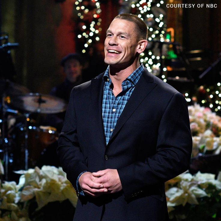 "John Cena hosts ""Saturday Night Live"""