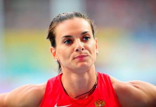 Double Olympic pole vault champion Yelena Isinbayeva pleads with IAAF not to ban Russia