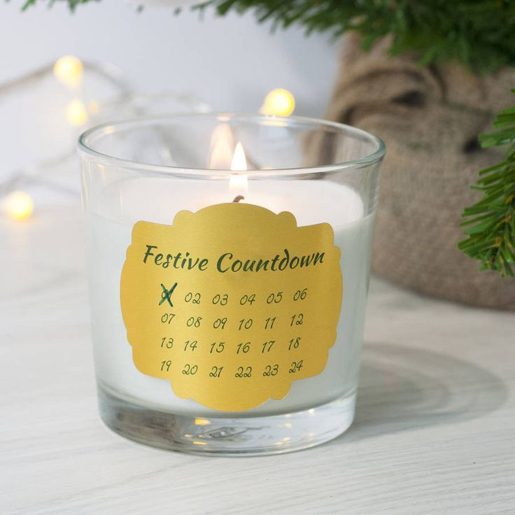 Festive Countdown Candle – Little Pieces