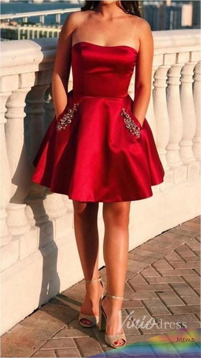 apr 22, 2020 - short red homecoming dresses