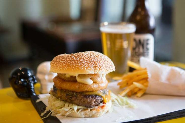 Try THE STRAIGHT ACE BURGER, REDEMPTION BURGERS Block B, The Old Biscuit Mill, 375 Albert Road, Woodstock