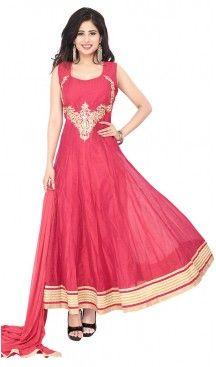 Deep #Pink Color #Chanderi #Silk Anarkali #Readymade Churidar Kameez   FH455771347 #anarkali , #salwar , #kameez , #dresses , #suits , #designer , #colors , #pinterest , #Shopping , #fashion , #boutique , #online , #heenastyle , #indian , #style , @heenastyle , #churidar , #likes , #abaya , #pakistani, #clothing , #womens , #mens , #kids , #boys , #girls