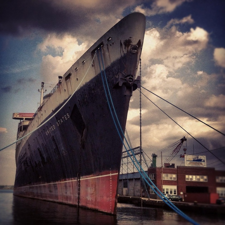 the designer of the SS United States was so obsessed with fire safety the crew joked there were only 2 things on the ship made with actual wood: __________ and ___________.: Timeline Photo, Actually Wood