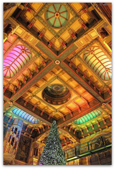 Ceiling Hall Hoofdstation,Groningen stad,the Netherlands,Europe by Aheroy, via Flickr