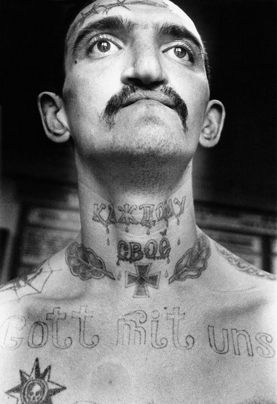 Tatuajes carcelarios rusos: Archivo fotográfico