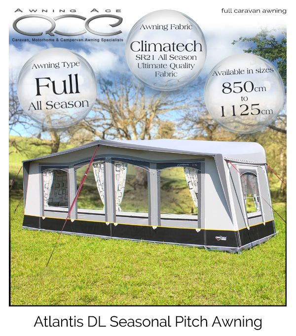 CampTech Atlantis DL Luxury Seasonal Caravan Awning