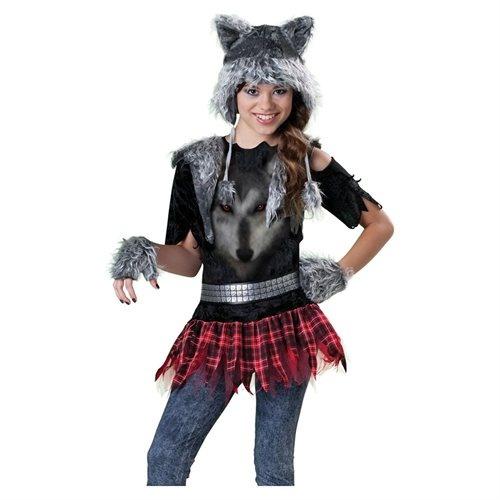 Rakuten.com - Tween Punk Werewolf Girls Monster Costume - love the gloves on this costume