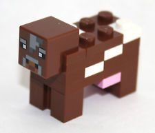 lego minecraft cow instructions