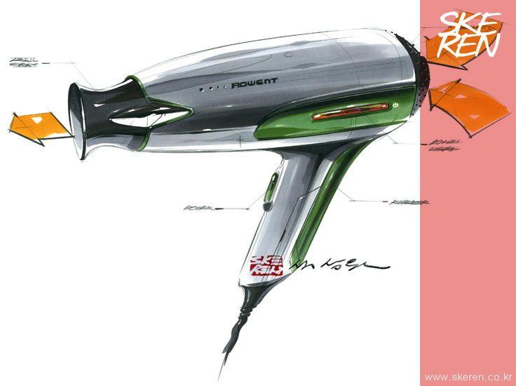 제품 디자인 / 제품 스케치(Hair dryer) : 네이버 카페