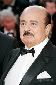 Adnan Khashoggi.. at one time he was the worlds biggest arms dealer, I also worked in London with his ex-son in law