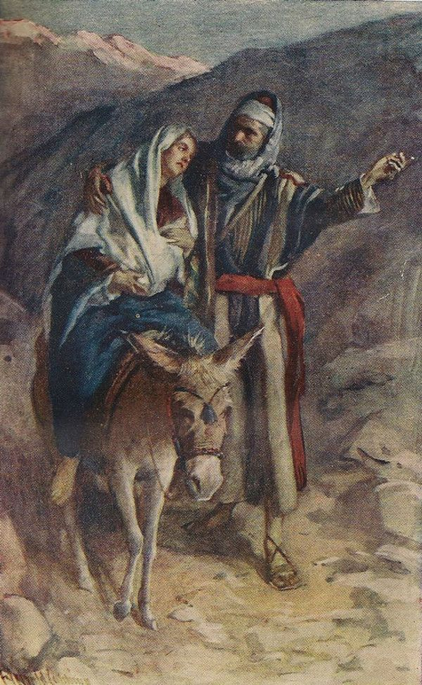 Flight Into Egypt by Harold Copping