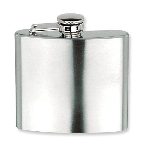 Brushed Stainless Steel 5oz Square Flask Jewelry Adviser Gifts. $33.75. Save 60% Off!