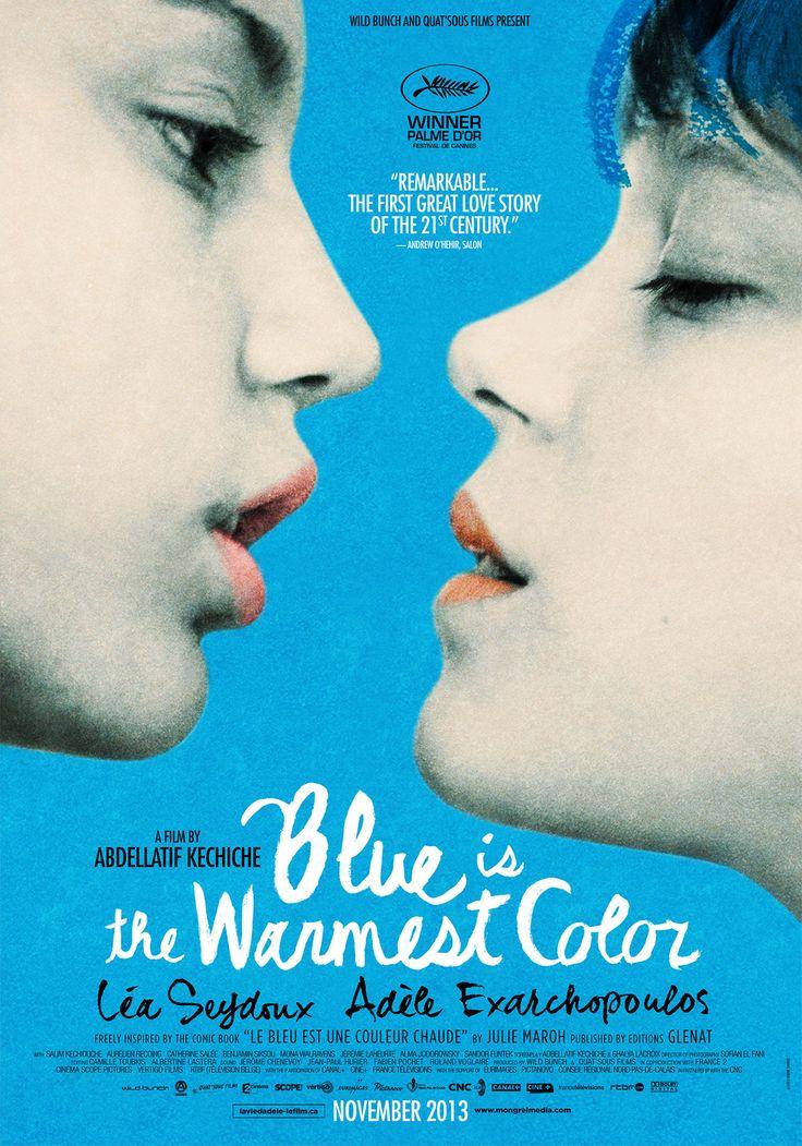 아델의 삶. 가장 따뜻한 색 블루.  정말 아델의 삶, 우리들의 삶, 연애아니고 사랑이야기. 영화는 적나라하고 길다. 둘 다 연기 쫘좡.