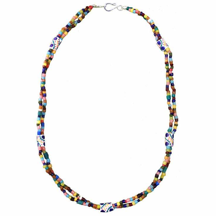 Festival Necklace Rainbow - Global Mamas