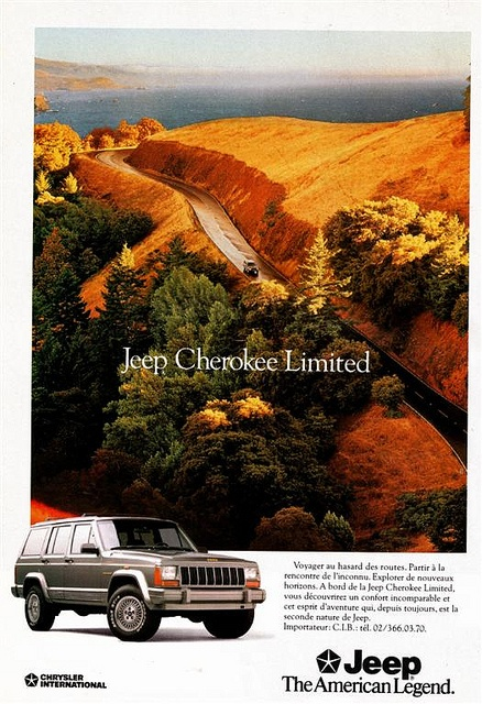 Jeep Cherokee Limited 1991 | Flickr - Photo Sharing!