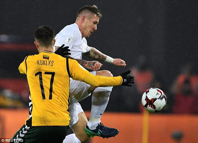 Slovakia'sJuraj Kucka has played his part in helping Milan rise to third in Serie A this season