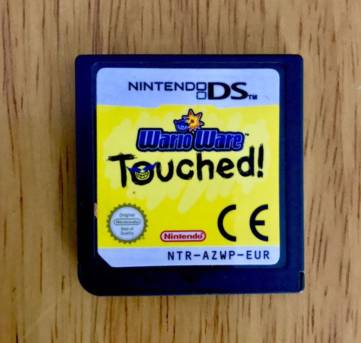 Ds Game Wario Ware Touched 2ds 3ds dsi fast signed first class post