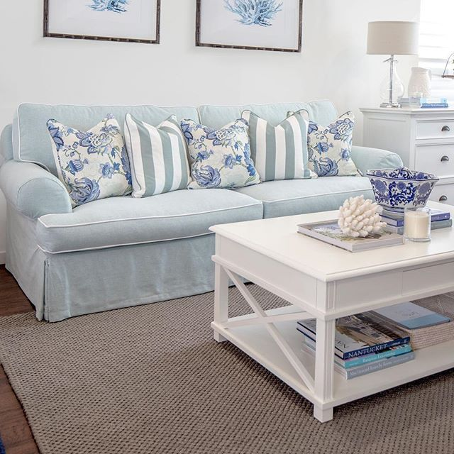 Our Manto Coffee Table in white is back in stock