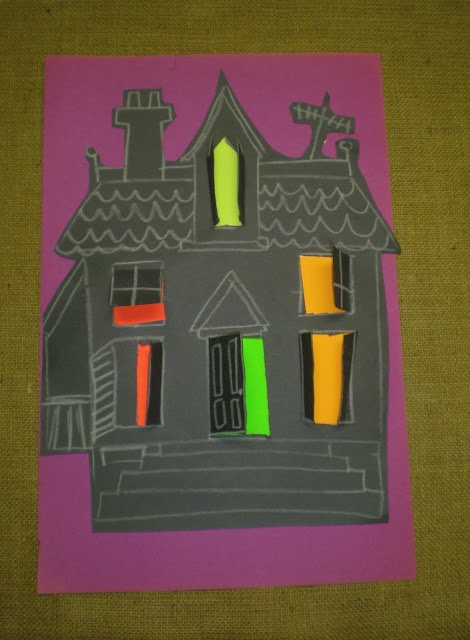 Jarvis House Haunted Halloween Craft For Kids