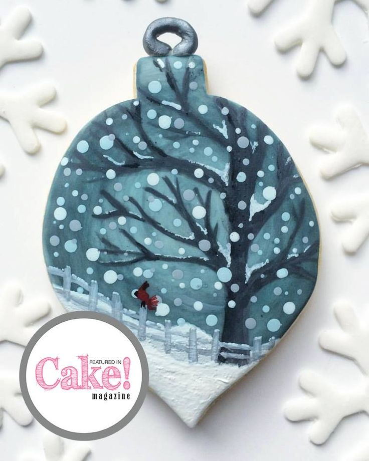 As seen in the Winter Wonderland issue of Cake! magazine, August 2017 by Mad Hen Cakes  Read online and subscribe for free here:  http://joom.ag/R63L  A free digital magazine published quarterly by the Australian Cake Decorating Network